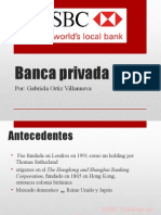 Banca Privada caso HSBC MEXICO