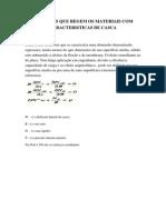 EQUAÇÕES QUE REGEM OS MATERIAIS COM CARACTERISTICAS DE CASCA