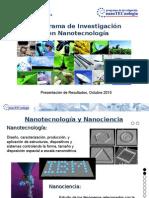 Resultados y Perspectivas Programa Nanotecnología Junio 2011_Costa Rica