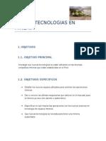 Nuevas Tecnologias en Mineria