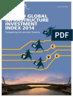 Arcadis Global Infrastructure Investment Index 2014