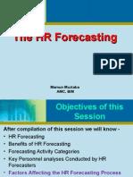HR Forecasting