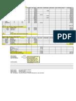 Planilha Oficina Custos