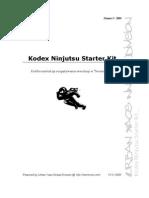 Kodex Ninjutsu Starter Kit