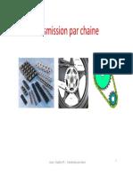 5-Transmission Par Chaine