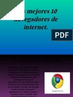 Los Mejores 10 Navegadores y Buscadores de Internet