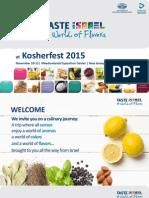 Israeli products at 2015 Kosherfest