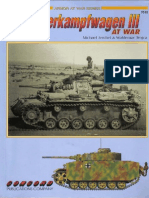 Concord 7010 Armor at War - The Panzerkampfwagen III at War
