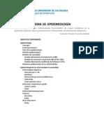 Tema 10 - Epidemiología