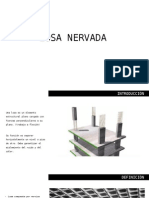 Losa Nervada - Reforma 27