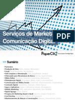Serviços de marketing e comunicação digital