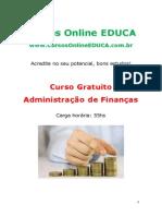 Administração de Finanças