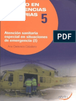 Temario Atención Sanitaria Inicial en Situaciones de Emergencia