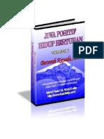 Jiwa Positif Dan Hidup Bertuhan Vol 3