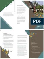 """Programa de la conferencia """"Escuela, democracia y ciudadanía en el Perú"""""""