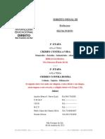 ATPS - ANHANGUERA - Direito Penal III - Etapa 1 e 2