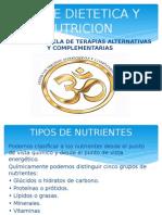 Clase Dietetica y Nutricion Clase i