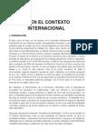 El Peru en El Contexto Internacional