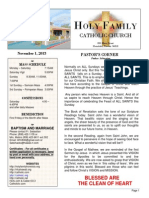 church bulletin 11-1-2015