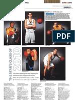 2010 Toronto Star high school basketball all-stars