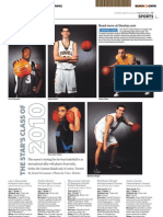 2010 Toronto Star high school basketball all-stars