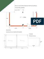 Diseño Estructural de Pórticos Simples
