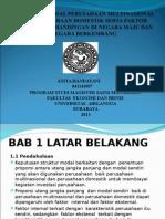 Struktur Modal Perusahaan Multinational Dan Perusahaan Domestik Serta