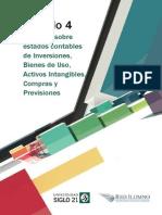 M 4 - L 4 - Auditoría Estados Contables de Inversiones Bienes de Uso Activos Intangibles Compras y Previsiones