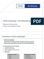 The Wonderful World of Cloud Computing From an Enterprise Perspective