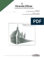 LA ORACIÓN EFICAZ (Cuaderno Del Alumno); Por Raúl Justiniano Añez
