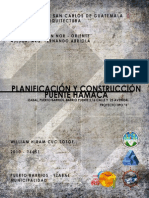 Perfil Del Proyecto Puente Hamaca
