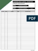 AD-F-039-001 Bitacora de Uso de Equipos Clinica y Laboratorios