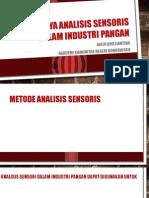 Pentingnya Analisis Sensoris Dalam Industri Pangan