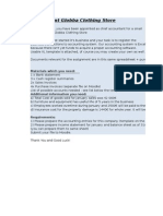 Bank Statement and Cash Register Summaries