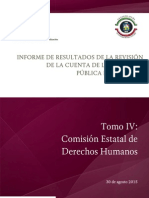 Tomo IV Comision Estatal de Derechos Humanos.