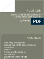 Rule 108 SpecPro Powerpoint