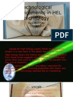 technological advancements in hel technology