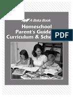 Homeschooling Parent Guide content