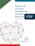Guidelines 2015 - Principais Alterações