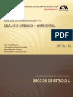 Analisis Urbano Ambiental DF