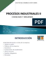 Procesos Industriales II Molienda y Chancado