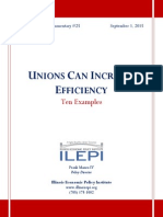 Ten Examples of How Unions Can Increase Efficiency