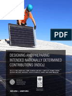 Designing and Preparing Intended Nationally Determined Contributions (INDCs) - World Resources Institute (WRI) and UNDP