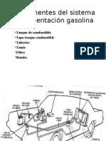 Componentes Del Sistema de Alimentación Gasolina