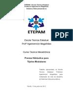 Relatório de Sistemas Hidro-pneumáticos