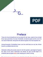 Mathematical Calculation of a Kimberlite Diamond Grade
