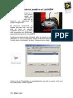 Joystick data labview