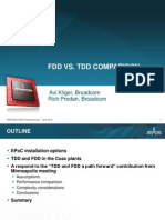 FDD vs TDD LTE