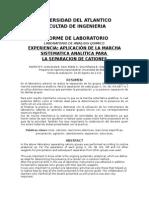 Informe de Quimica Analitica 1 1
