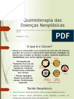 Quimioterapia Das Doenças Neoplásicas